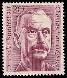 20 Pf Briefmarke: 1. Todestag Thomas Mann
