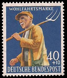 Wohlfahrtsmarke 1958 Briefmarke Brd