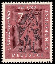 7 Pf Briefmarke: Briefmarkenausstellung Nürnberg