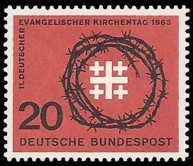 20 Pf Briefmarke: 11. Deutscher Evangelischer Kirchentag