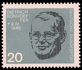 20 Pf Briefmarke: 20. Jahrestag des Attentats vom 20.7.1944