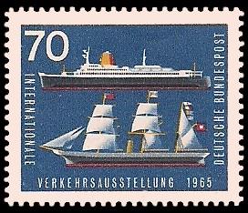 Internationale Verkehrsausstellung 1965 Briefmarke Brd