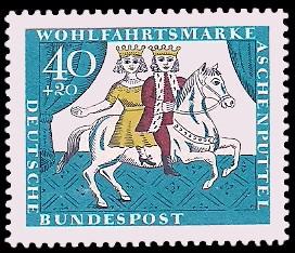 Wohlfahrtsmarke 1965 Aschenputtel Briefmarke Brd