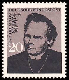 20 Pf Briefmarke: 100. Geburtstag Nathan Söderblom