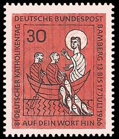 30 Pf Briefmarke: 81. Deutscher Katholikentag