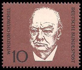 10 Pf Briefmarke: 1. Todestag Konrad Adenauer