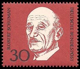 30 Pf Briefmarke: 1. Todestag Konrad Adenauer