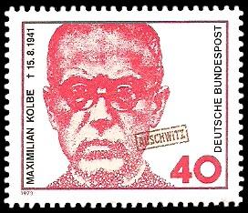40 Pf Briefmarke: Maximilian Kolbe