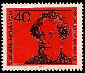 40 Pf Briefmarke: Deutsche Frauen