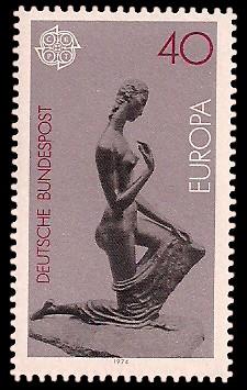 40 Pf Briefmarke: Europamarke 1974