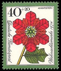 40 + 20 Pf Briefmarke: Weihnachtsmarke 1974