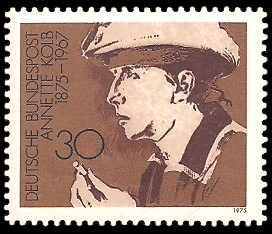 30 Pf Briefmarke: Deutsche Frauen