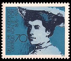 70 Pf Briefmarke: Deutsche Frauen