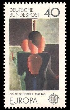 40 Pf Briefmarke: Europamarke 1975, Gemälde
