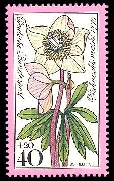 40 + 20 Pf Briefmarke: Weihnachtsmarke 1975