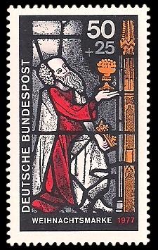 50 + 25 Pf Briefmarke: Weihnachtsmarke 1977