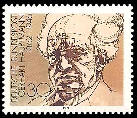 30 Pf Briefmarke: Nobelpreisträger deutschsprachiger Literatur