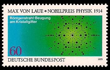 60 Pf Briefmarke: Nobelpreisträger