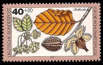 40 + 20 Pf Briefmarke: Für die Wohlfahrtspflege 1979
