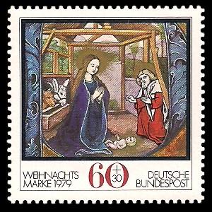 60 + 30 Pf Briefmarke: Weihnachtsmarke 1979