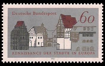 Renaissance Der Städte In Europa Briefmarke Brd