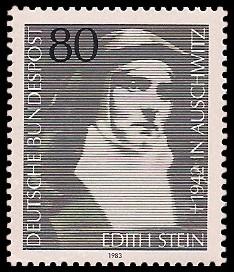 80 Pf Briefmarke: Edith Stein