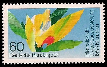 60 Pf Briefmarke: Internationale Gartenbauausstellung