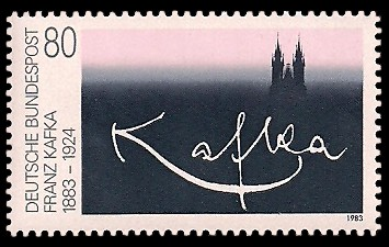 80 Pf Briefmarke: 100. Geburtstag Franz Kafka