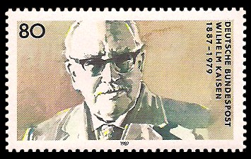 80 Pf Briefmarke: 100. Geburtstag Wilhelm Kaisen