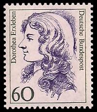 60 Pf Briefmarke: Frauen der deutschen Geschichte