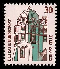 30 Pf Briefmarke: Serie Sehenswürdigkeiten