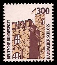 300 Pf Briefmarke: Serie Sehenswürdigkeiten