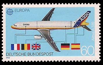 60 Pf Briefmarke: Europamarke 1988