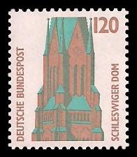 120 Pf Briefmarke: Serie Sehenswürdigkeiten