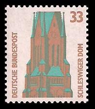 33 Pf Briefmarke: Serie Sehenswürdigkeiten