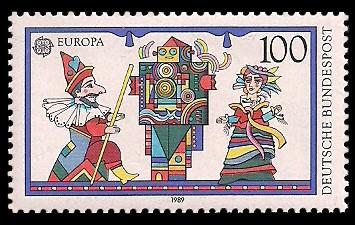 100 Pf Briefmarke: Europamarke 1989