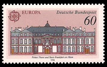 60 Pf Briefmarke: Europamarke 1990