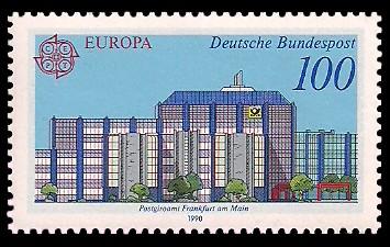 100 Pf Briefmarke: Europamarke 1990