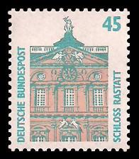 45 Pf Briefmarke: Serie Sehenswürdigkeiten