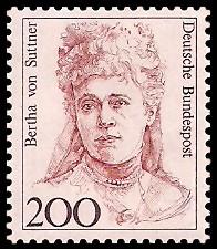200 Pf Briefmarke: Frauen der deutschen Geschichte