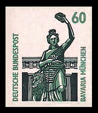 60 Pf Briefmarke: Serie Sehenswürdigkeiten