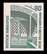 80 Pf Briefmarke: Serie Sehenswürdigkeiten