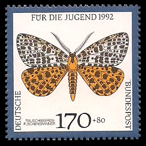 170 + 80 Pf Briefmarke: Für die Jugend 1992, Schmetterlinge