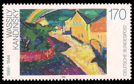 170 Pf Briefmarke: Moderne Gemälde