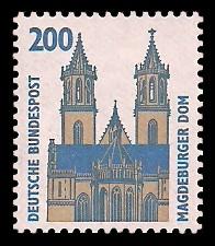 200 Pf Briefmarke: Serie Sehenswürdigkeiten