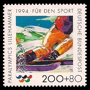 200 + 80 Pf Briefmarke: Für den Sport 1994