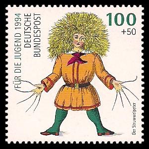 100 + 50 Pf Briefmarke: Für die Jugend 1994, Heinrich Hoffmann