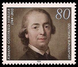 80 Pf Briefmarke: 250. Todestag Johann Gottfried Herder