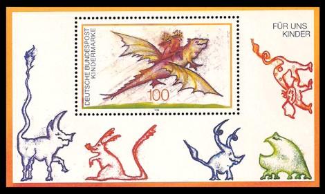 Briefmarke: Block: Für uns Kinder