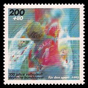 200 + 80 Pf Briefmarke: Für den Sport 1995